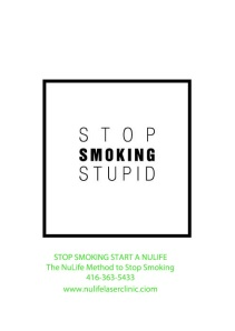 Stop smoking start a nulife