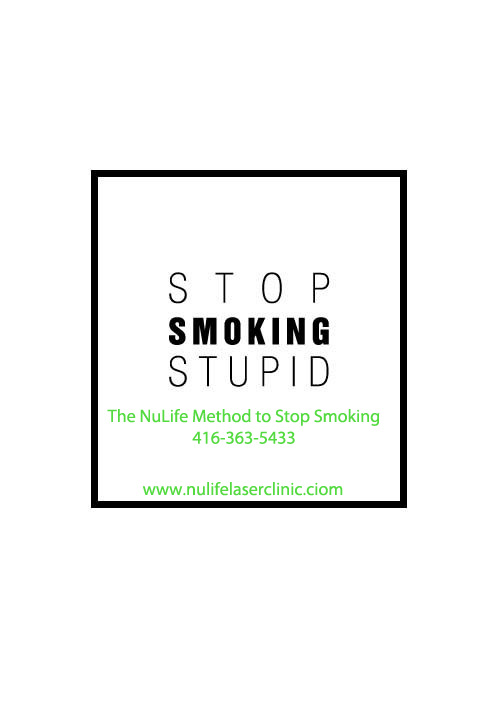 Stop Smoking Toronto